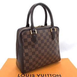 LOUIS VUITTON ルイヴィトン ハンドバッグ N51150 ブレラ ダミエキャンバス/レザー ブラウン【中古】 レディース