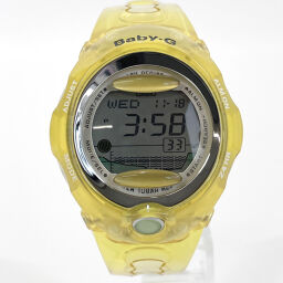 CASIO カシオ 腕時計 BGX-200 ベビー G 合成樹脂 イエロー クオーツ【中古】 ユニセックス