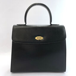 COACH Coach Handbag 4417 Old Coach Leather Black [Used] Ladies