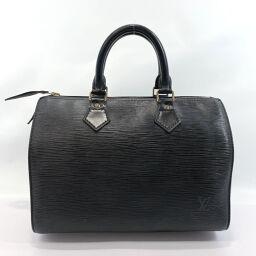 LOUIS VUITTON Louis Vuitton Handbag M59022 Speedy 30 Vintage Epi Leather Black [Used] Ladies