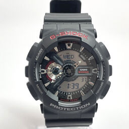 CASIO Casio Watch GA-110 Standard Synthetic Resin / Stainless Steel Black Black Dial [Used] Men's