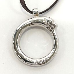 CARTIER Cartier Pendant Top Panther Metal Silver [Used] Unisex