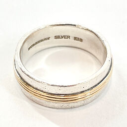 BURBERRY Ring / Ring Silver 925 / K18 Gold 13 Silver [Used] Men's