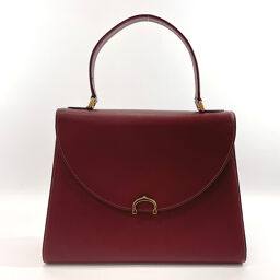 CARTIER Cartier Handbag L014843 Mastline Vintage Leather Bordeaux [Used] Ladies