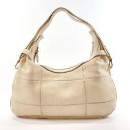 Salvatore Ferragamo Salvatore Ferragamo Shoulder Bag GD-217 469 Gancio Leather Off-White [Used] Ladies