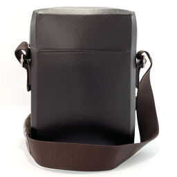 LOUIS VUITTON Louis Vuitton Shoulder Bag M46520 Bobby Cafe Monogram Glace Leather Dark Brown Cafe [Used] Men's