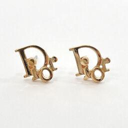 Dior Dior Earrings Metal Gold [Used] Ladies
