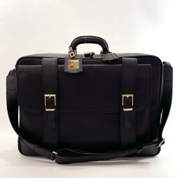 Salvatore Ferragamo Salvatore Ferragamo Business Bag 24 3706 Vintage Leather Black [Used] Men's