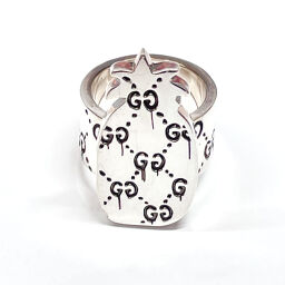 GUCCI Gucci Ring / Ring Ghost Pineapple Ring Silver 925 7787 Silver [Used] Unisex