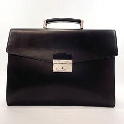 PRADA Prada Business Bag Briefcase Leather Black [Used] Men's