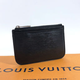 LOUIS VUITTON ルイヴィトン ポシェット・クレ M66602 コインケース エピレザー ブラック【中古】 ユニセックス