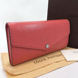 LOUIS VUITTON Louis Vuitton Wallet M60604 Portofeuil Sara Epi Leather Pink Colleil [Used] Ladies