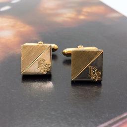 Christian Dior Christian Dior Cuff Metal Gold [Used] Men