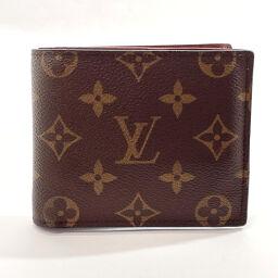 LOUIS VUITTON Louis Vuitton Bi-Fold Wallet M62288 Portofeuil Marco NM Monogram Canvas Brown [Used] Unisex