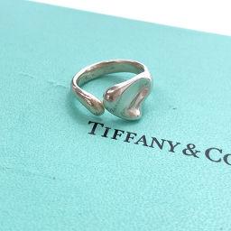 TIFFANY&Co. ティファニー ビーンズ ハート リング・指輪 シルバー925 BC シルバー【中古】 レディース