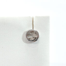 GUCCI Gucci Earrings 1680FI Interlocking G One Ear Only Silver 925 Silver [Used] Unisex