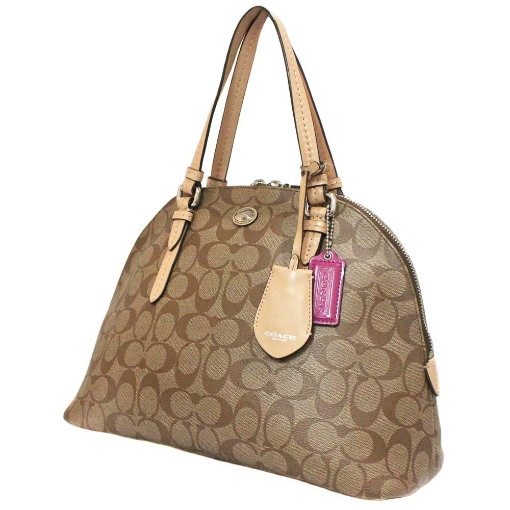 Cola Domed Satchel Handbag Pvc