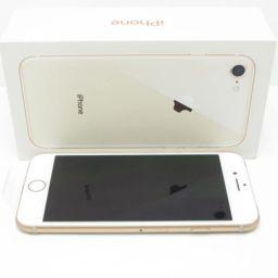【新品 未使用品】白ロム SoftBank iPhone8 64GB ゴールド スマホ 本体 新品