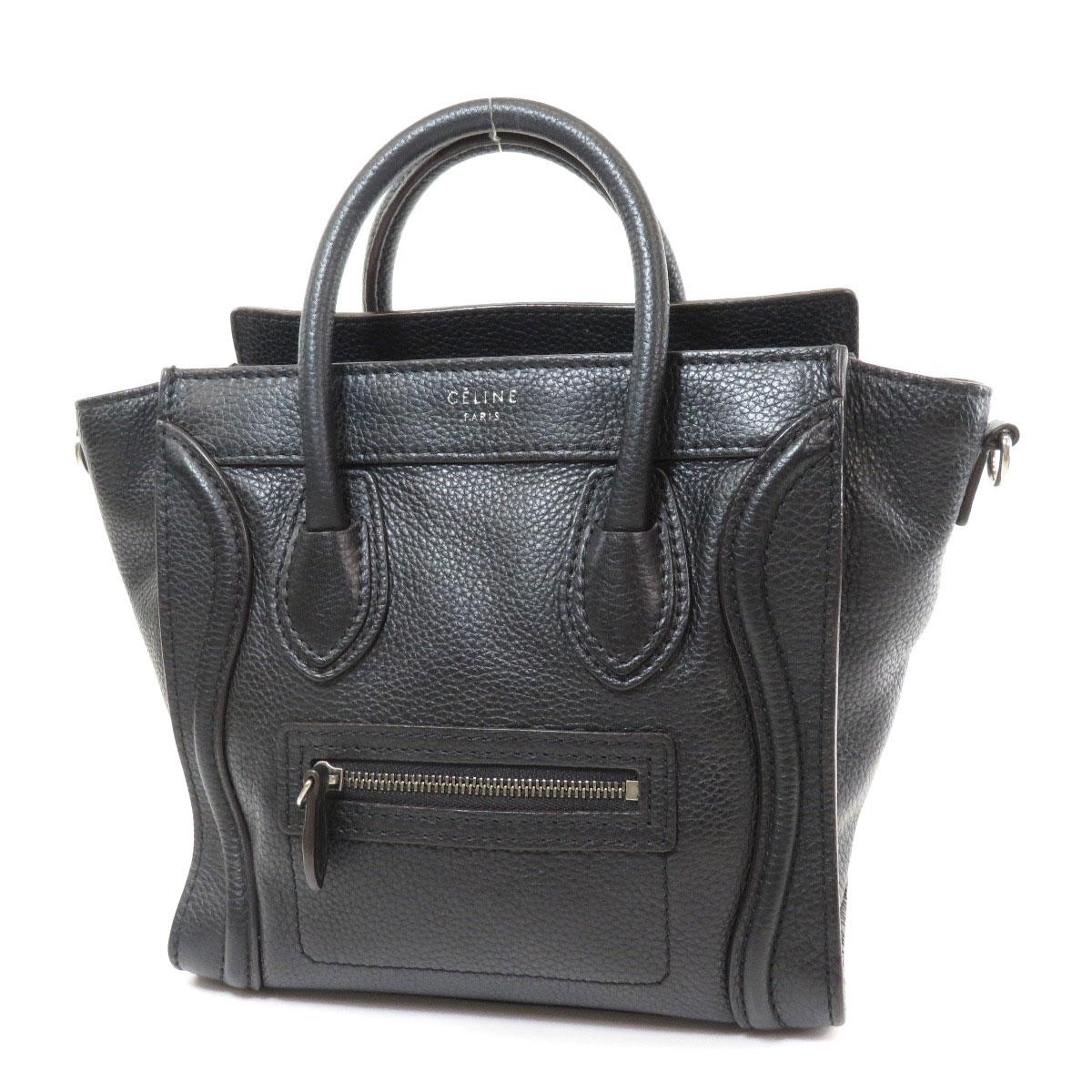 8ca7324b294c CELINE  Cerine  Handbag Calfskin Women ー The best place to buy ...