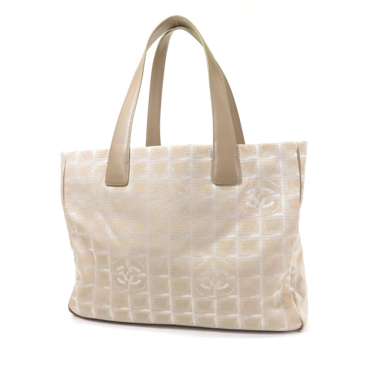5719ec9623a CHANEL  CHANEL  Tote Bag Nylon Jacquard Ladies ー The best ...