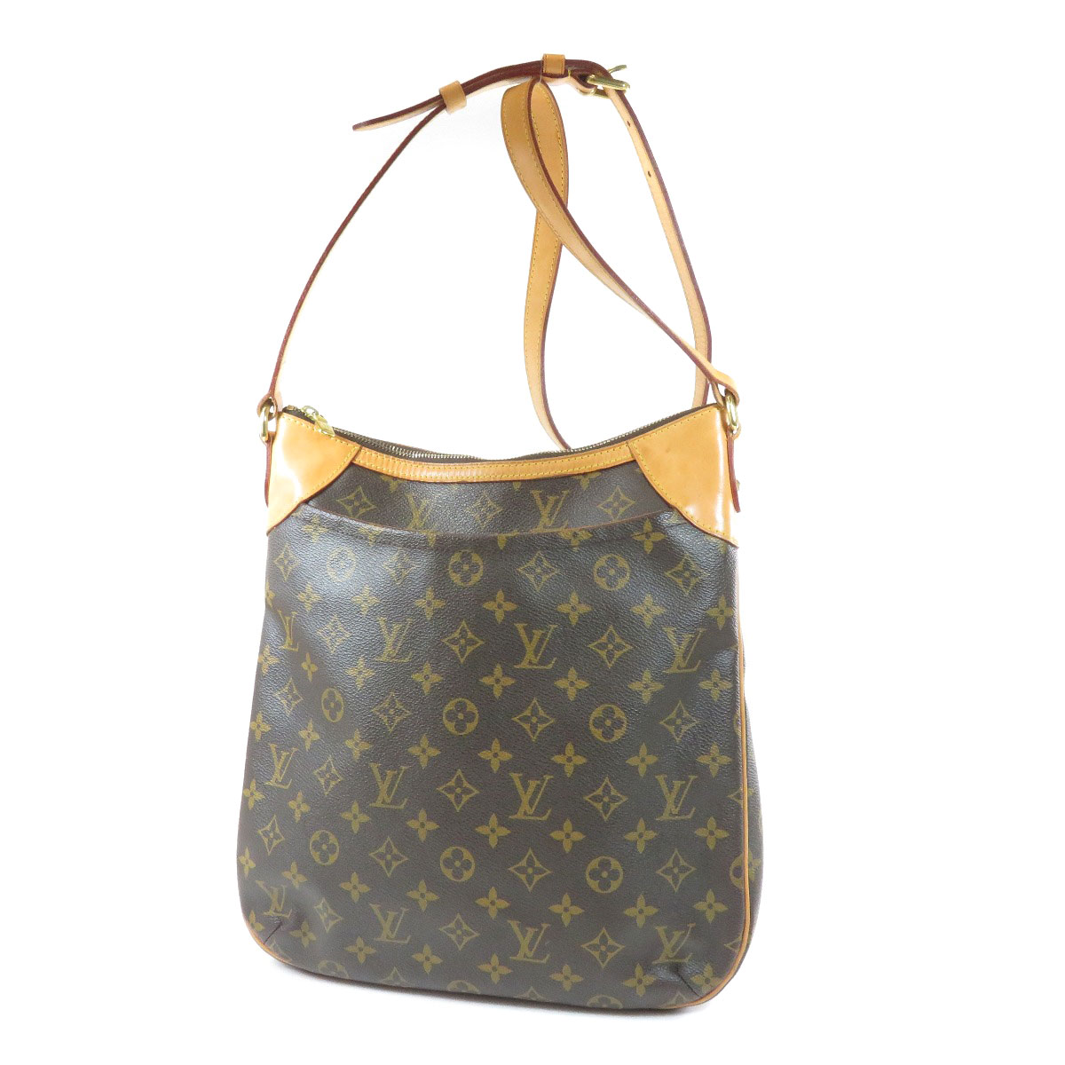 87611f3811a7 Details about LOUIS VUITTON M56389 Shoulder Bag Odeon MM Monogram canvas