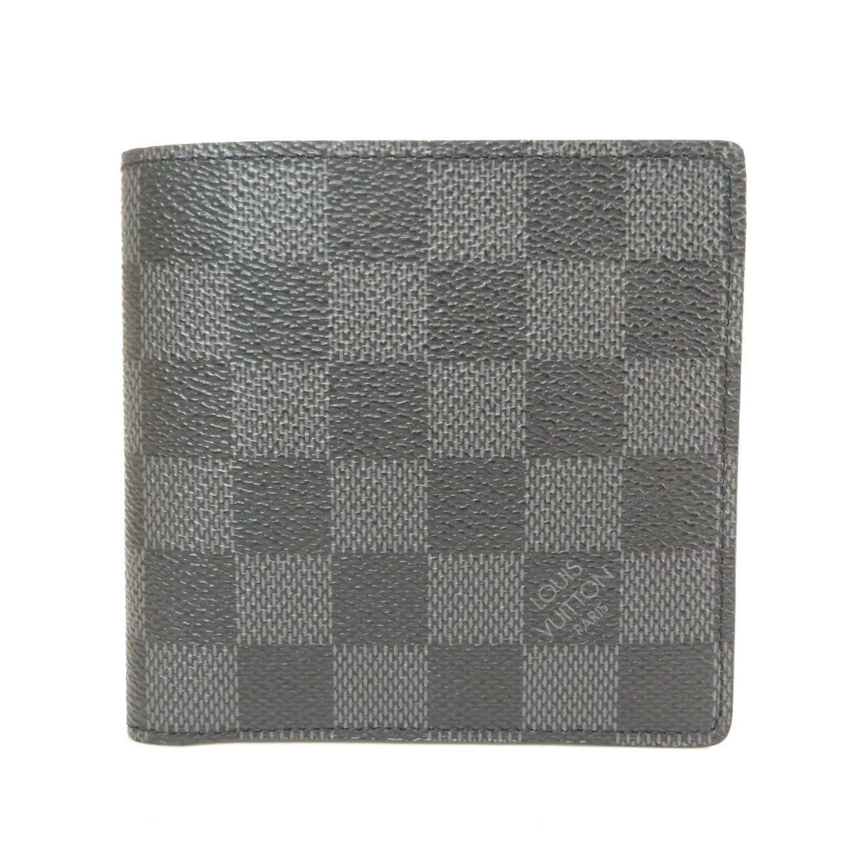 230fffe350e7 Portefeiulle · Marco N63336 Bifold Wallet with Coin Pocket Damier canvas  mens