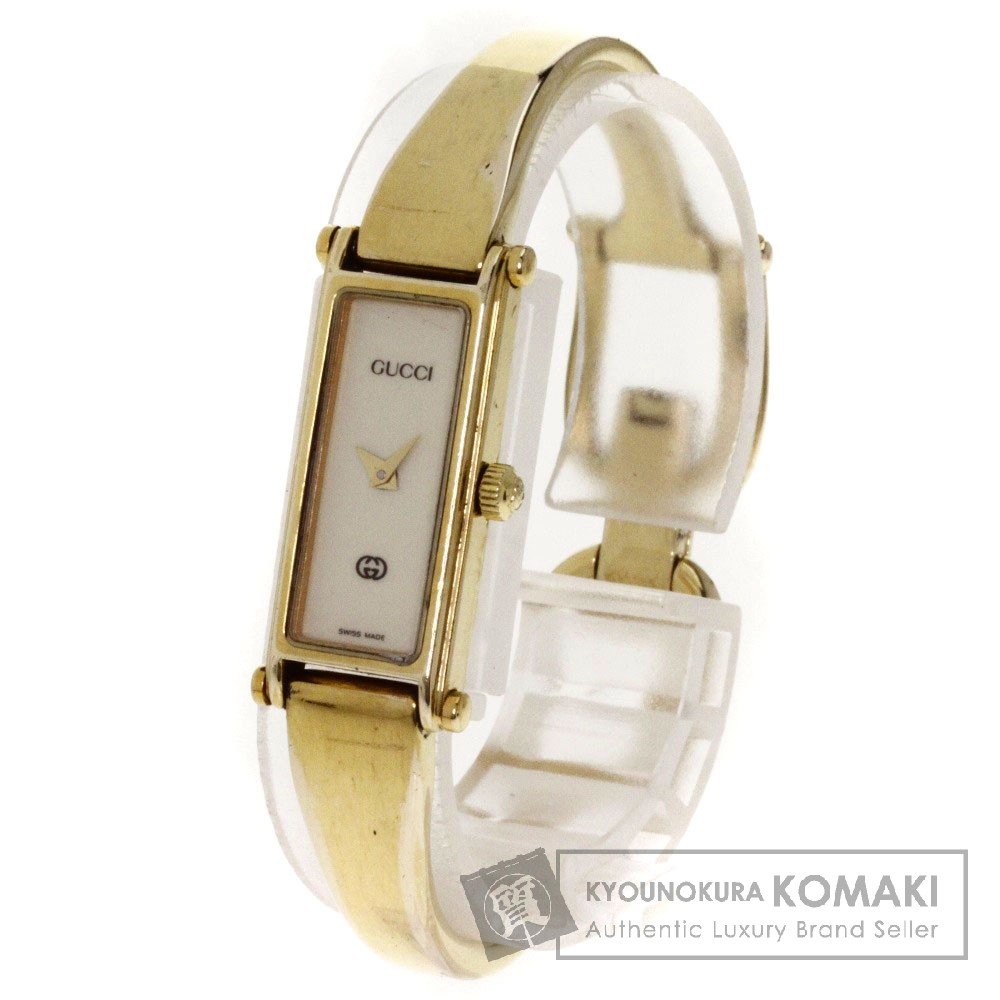 66dba160022 GUCCI  Gucci  1500L Wrist Watch Gold Plated Women s ー The best ...