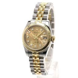 ROLEX【ロレックス】 179173G 腕時計 ステンレス/SSxK18PG/SSxK18PG レディース