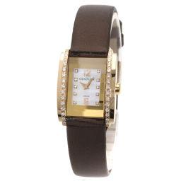 CENTURY【センチュリー】 腕時計 K18ピンクゴールド/革/革 レディース