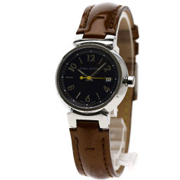 LOUIS VUITTON【ルイ・ヴィトン】 Q1211 腕時計 SS/革/革 レディース