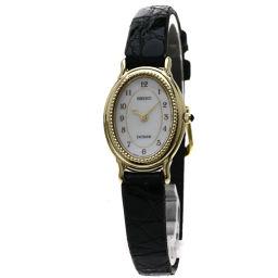SEIKO【セイコー】 1F20-6A4A 腕時計 GP/革/革 レディース