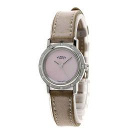 HERMES【エルメス】 CL4.230 腕時計 ステンレス/革/革 レディース