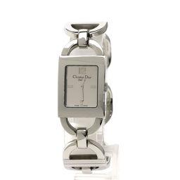 Christian Dior【クリスチャンディオール】 D78-109 腕時計 ステンレススチール/SS/SS レディース