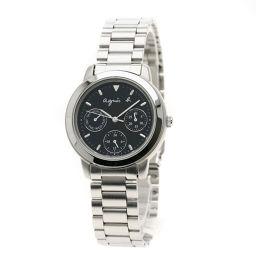 agnes b.【アニエスベー】 腕時計 ステンレススチール/SS/SS レディース