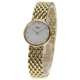 Chopard【ショパール】 7587 腕時計 K18イエローゴールド/K18YG/K18YG レディース