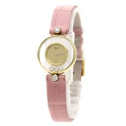 Chopard【ショパール】 腕時計 K18イエローゴールド/クロコダイル/クロコダイル レディース