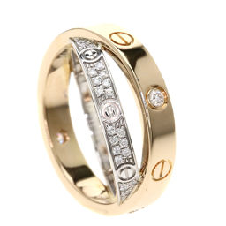 CARTIER【カルティエ】 リング・指輪 K18ピンクゴールド/K18WG/K18WG レディース