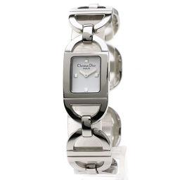 Christian Dior【クリスチャンディオール】 D78-108 腕時計 ステンレススチール/SS/SS レディース