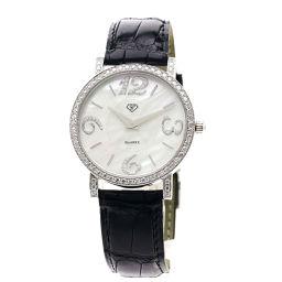 CARATI【カラチ】 腕時計 K18ホワイトゴールド/クロコダイル/クロコダイル メンズ