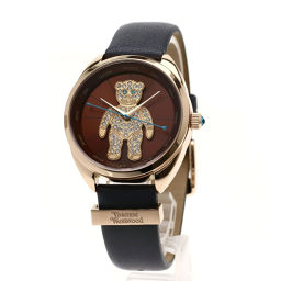 Vivienne Westwood【ヴィヴィアン・ウエストウッド】 VV103BRGY 腕時計 GP/レザー/レザー レディース