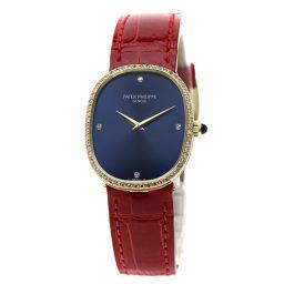 PATEK PHILIPPE【パテックフィリップ】 3849J 7624 腕時計 K18イエローゴールド/ダイヤモンド メンズ