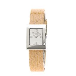 Christian Dior【クリスチャンディオール】 D78-109 腕時計 ステンレススチール/パテントレザー/パテントレザー レディース
