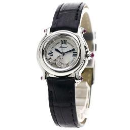 Chopard【ショパール】 27/8245-21 7773 腕時計 ステンレススチール/クロコダイル/クロコダイル レディース