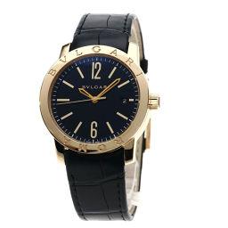 BVLGARI【ブルガリ】 BBP39BGLD 腕時計 K18ピンクゴールド/レザー/レザー メンズ