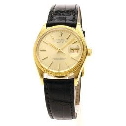 ROLEX【ロレックス】 1504 腕時計 K18イエローゴールド/アリゲーター/アリゲーター メンズ