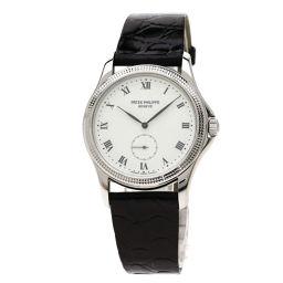 PATEK PHILIPPE【パテックフィリップ】 Ref.5115G-001 腕時計 K18ホワイトゴールド/クロコダイル/クロコダイル メンズ