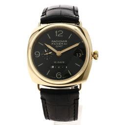 PANERAI【パネライ】 PAM00273 腕時計 K18ピンクゴールド/クロコダイル/クロコダイル メンズ