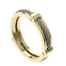 FRED【フレッド】 リング・指輪 K18イエローゴールド/SS/SS メンズ