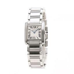 CARTIER【カルティエ】 腕時計 ステンレススチール レディース