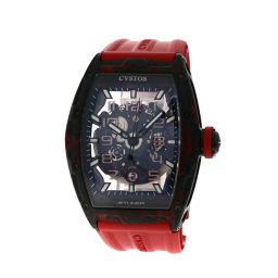 CVSTOS【クストス】 CVT-JET2-SL-RED FGDC 腕時計 /ラバー/ラバー メンズ